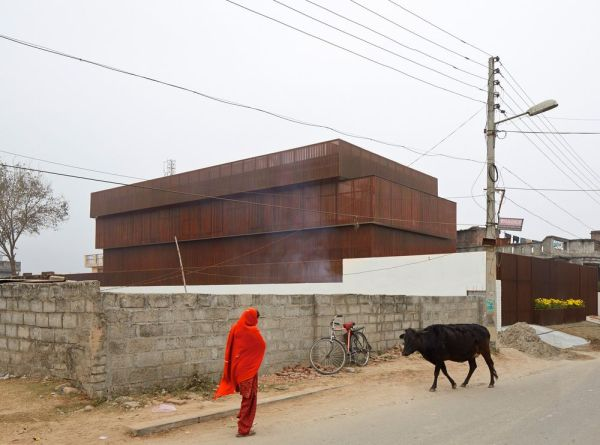 Casa Lattice en Kashimir, India. Edmund Sumner.