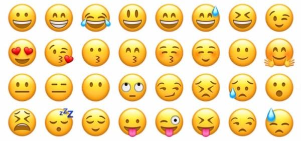 Los emojis son muy expresivos y encajan en cualquier conversación