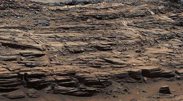 chimeneas en Marte
