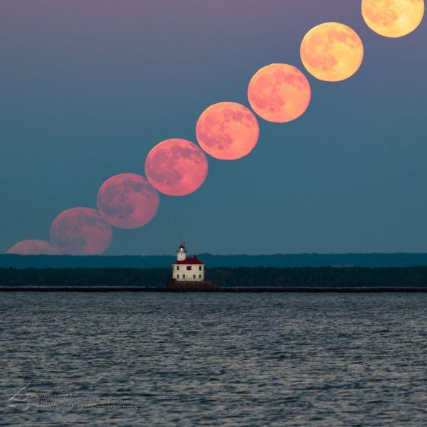 Grant Johnson. Secuencia de Luna llena