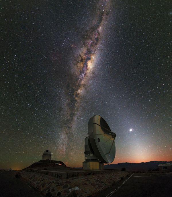Observatorio de La Silla, Chile, 14 de marzo