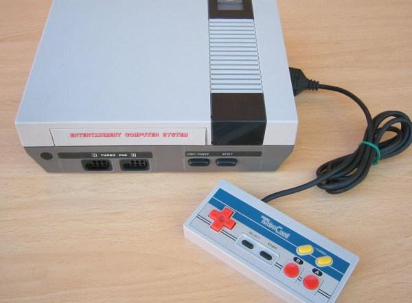 Ahora que lo recuerdo ese NES era pirata también