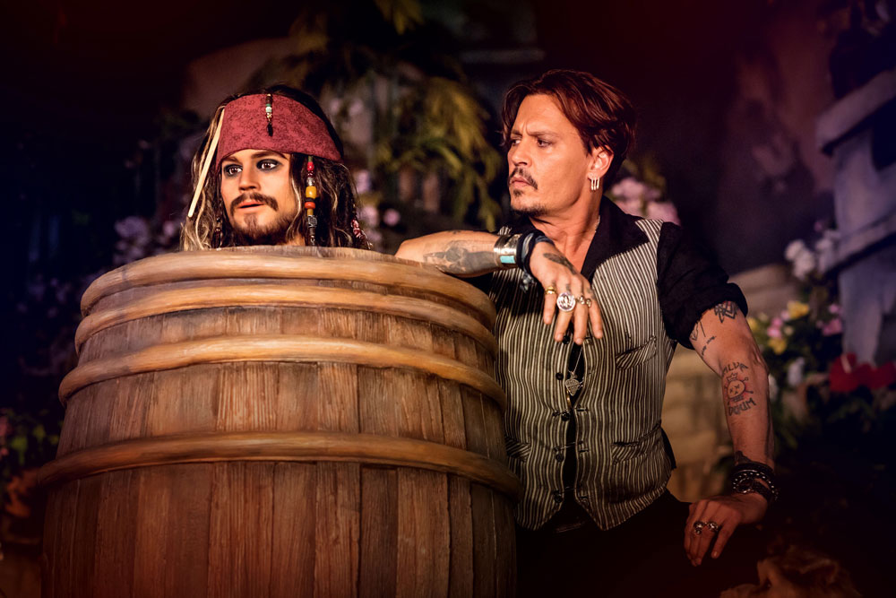 piratas del caribe disneyland