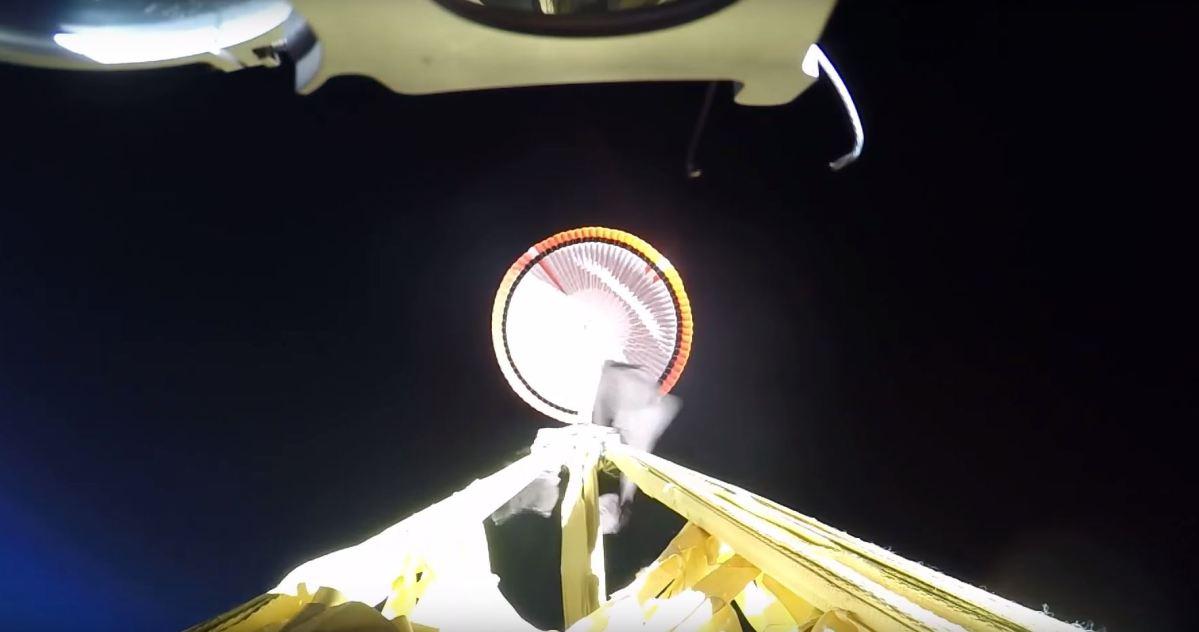 Paracaidas supersonico
