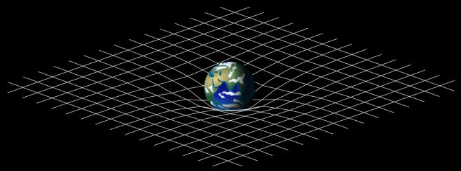 curvatura espacio tiempo