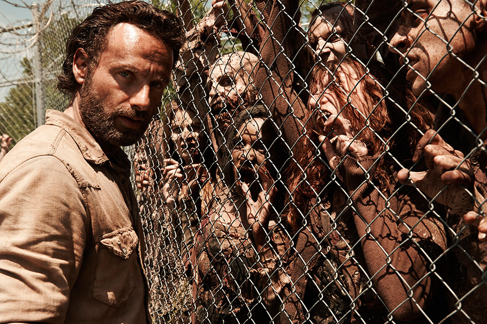 universo the walking dead amc