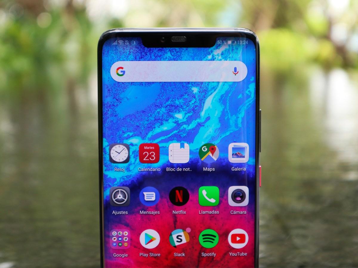 Notch del Huawei Mate 20 Pro
