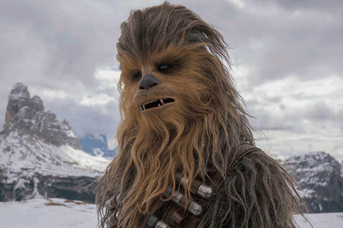 medalla chewbacca star wars