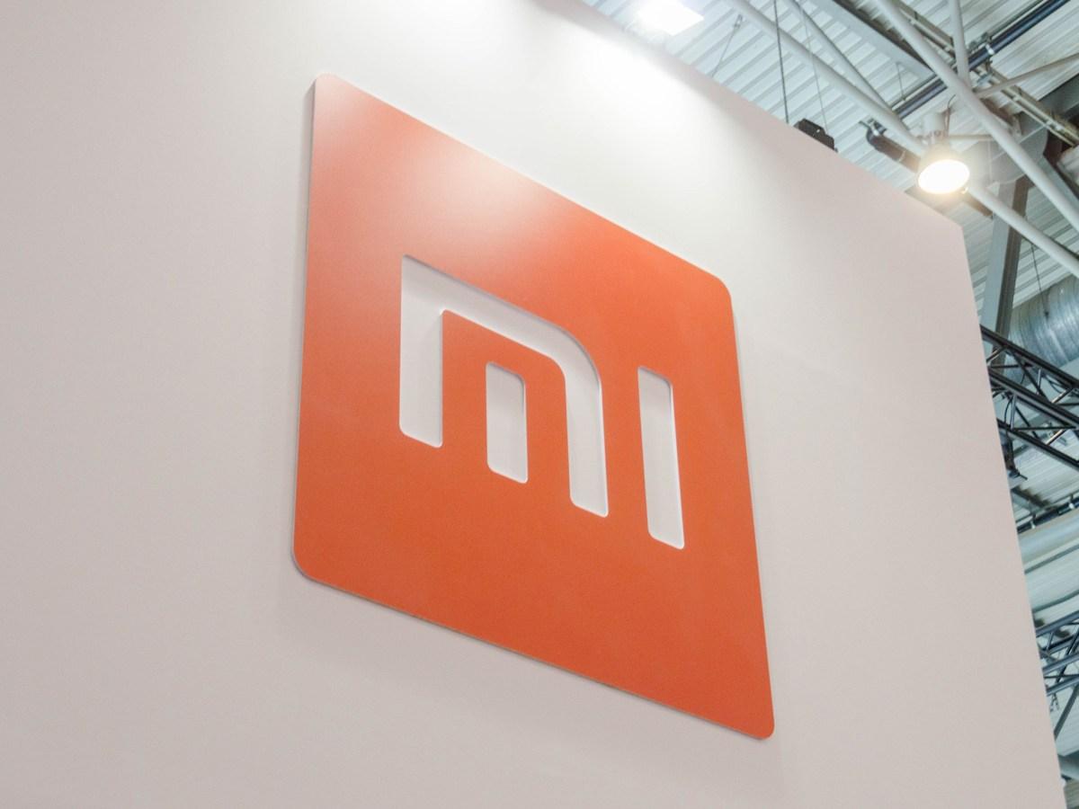 Logotipo de Xiaomi en el MWC 2019
