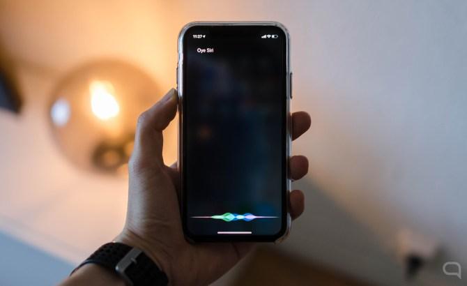 Siri en el iPhone XR
