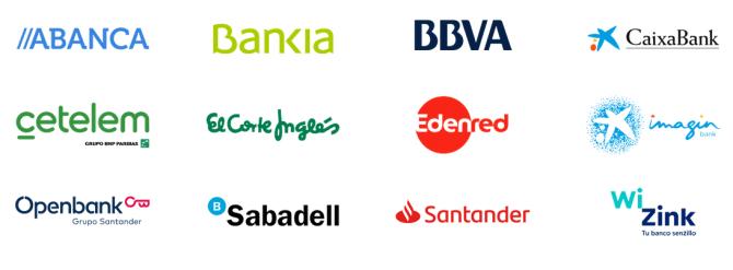 Entidades en Samsung Pay España