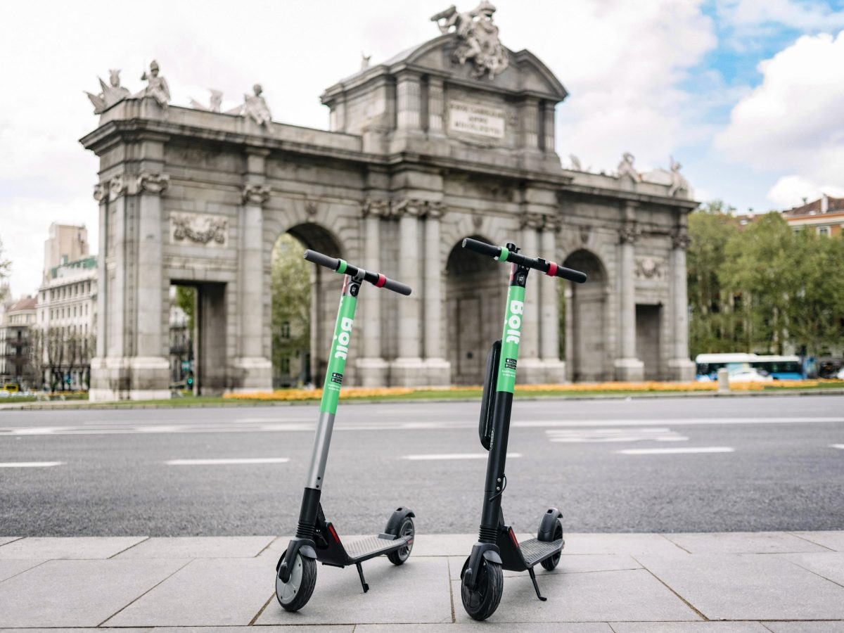 patinetes eléctricos Bolt Madrid