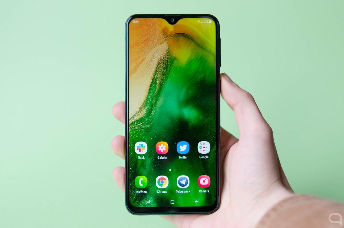 Samsung Galaxy M20 portada