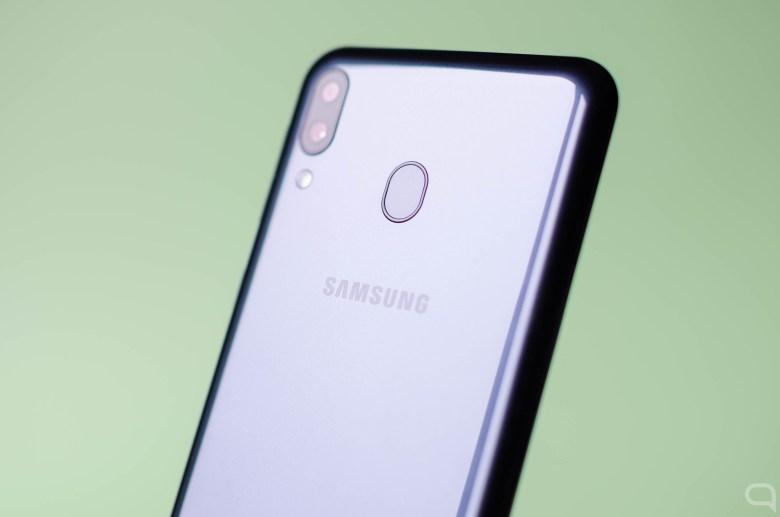 Samsung Galaxy M20 sensor