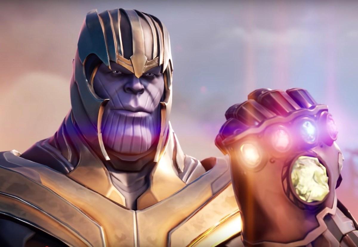 Thanos en Fortnite