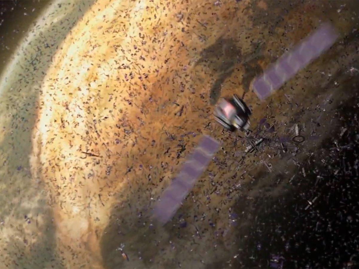 Satélites en 'WALL·E'