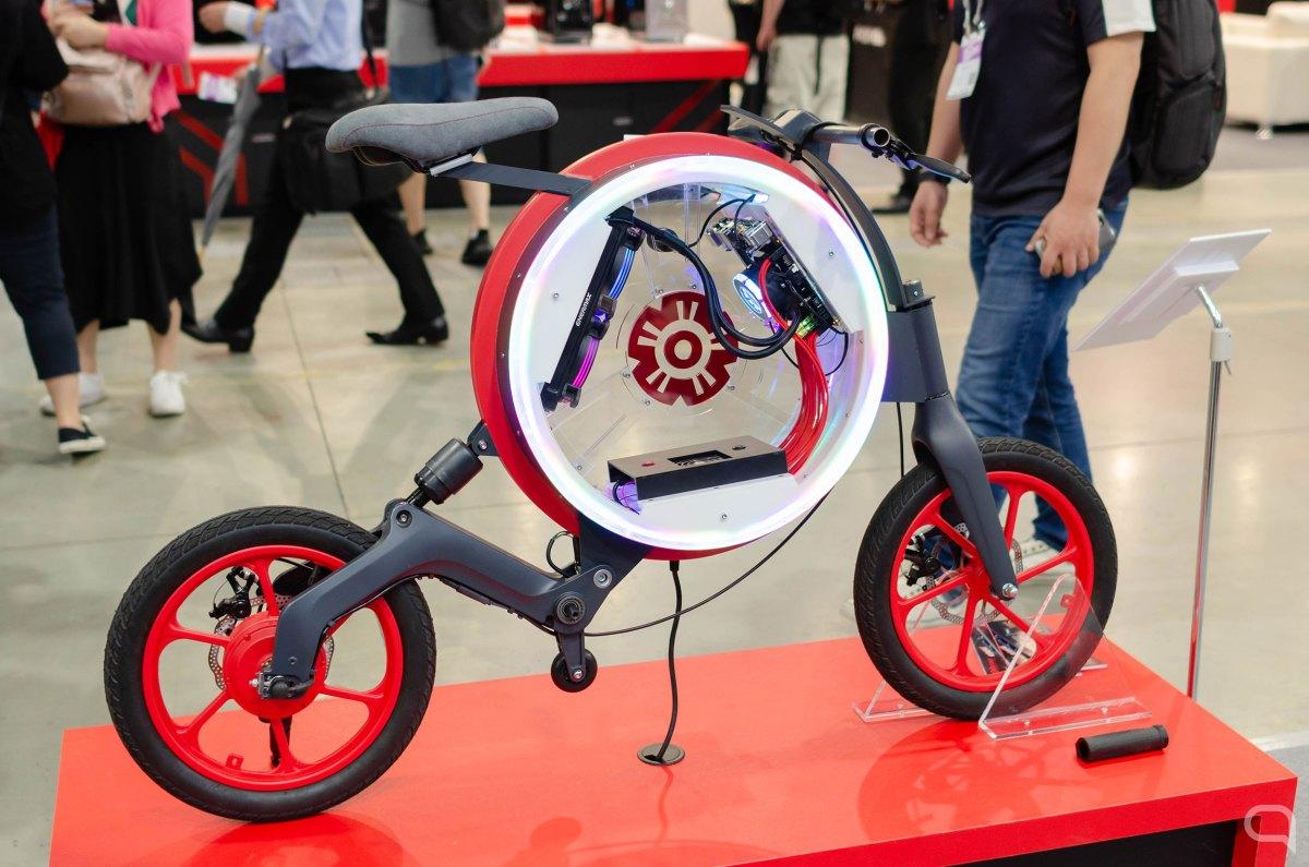 Bicicleta con PC