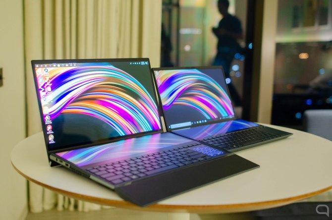 Asus Zenbook Pro Duo y ZenBook Duo