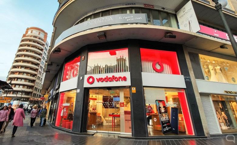 Tienda Vodafone en Valencia (España)