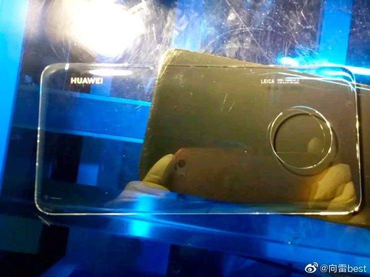 Cristal trasero filtrado del Huawei Mate 30 Pro
