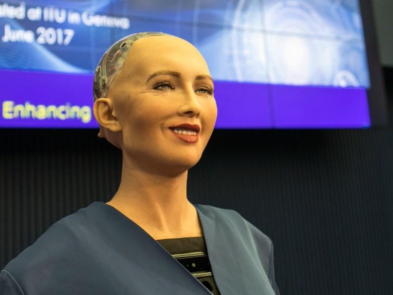 Robots con apariencia humana