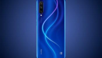 Xiaomi Mi A3 en azul
