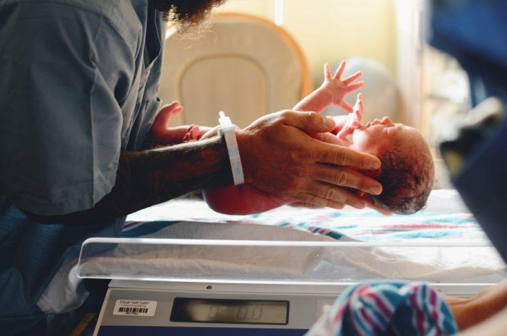recién nacido, hospital