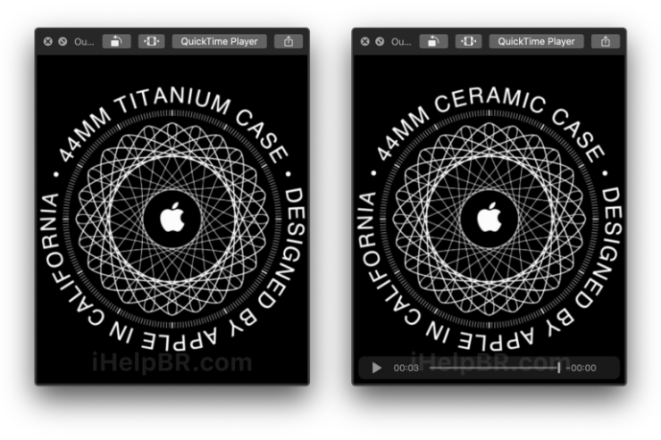 Apple Watch titanio, cerámica.