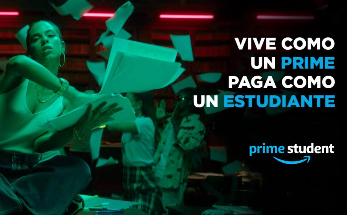 Amazon Prime para estudiantes
