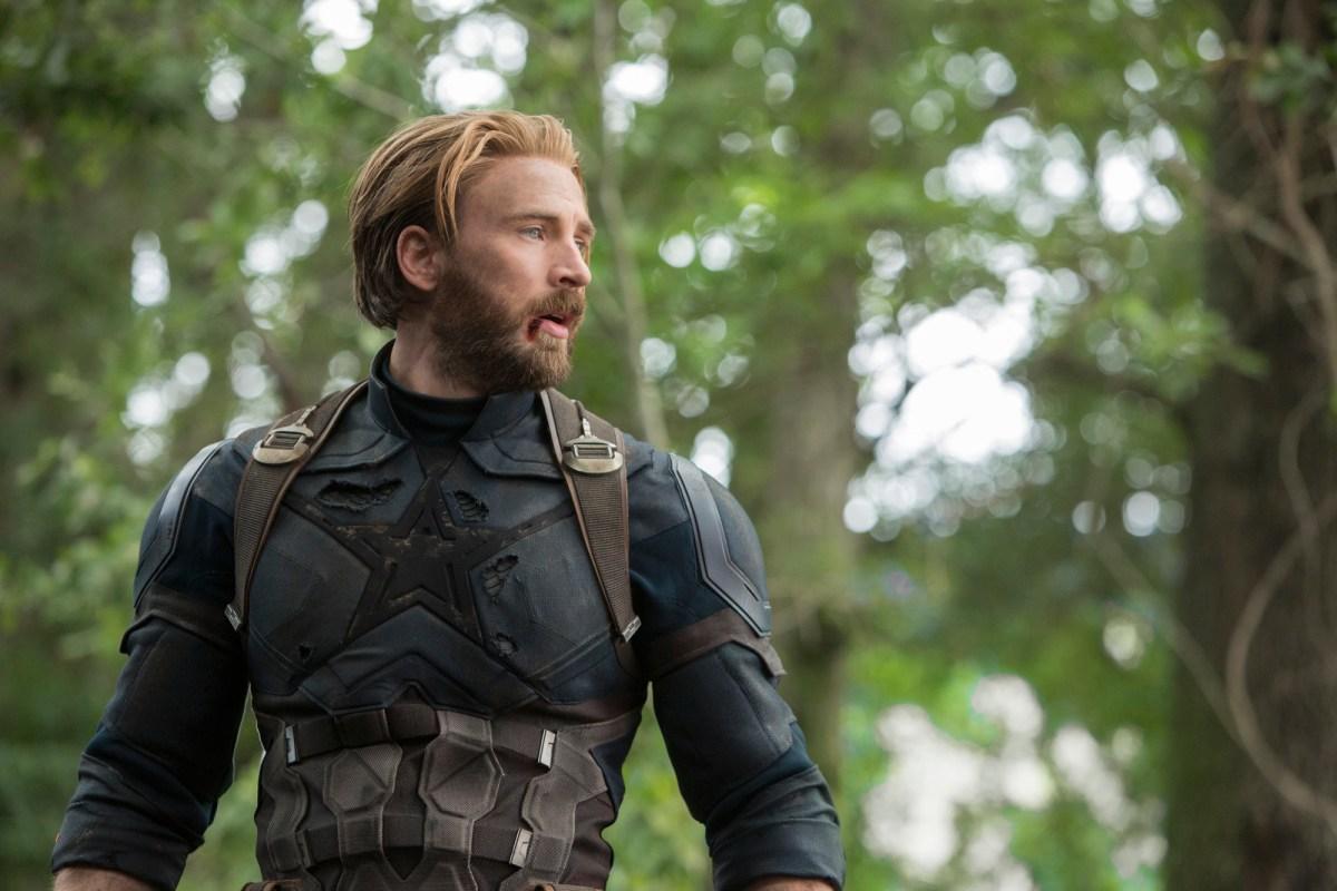 Chris Evans / Steve Rogers / Capitán América