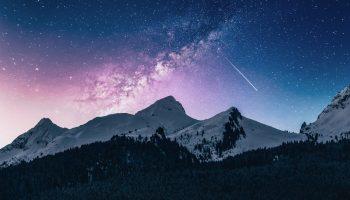 astronomía, cielo, ver las oriónidas