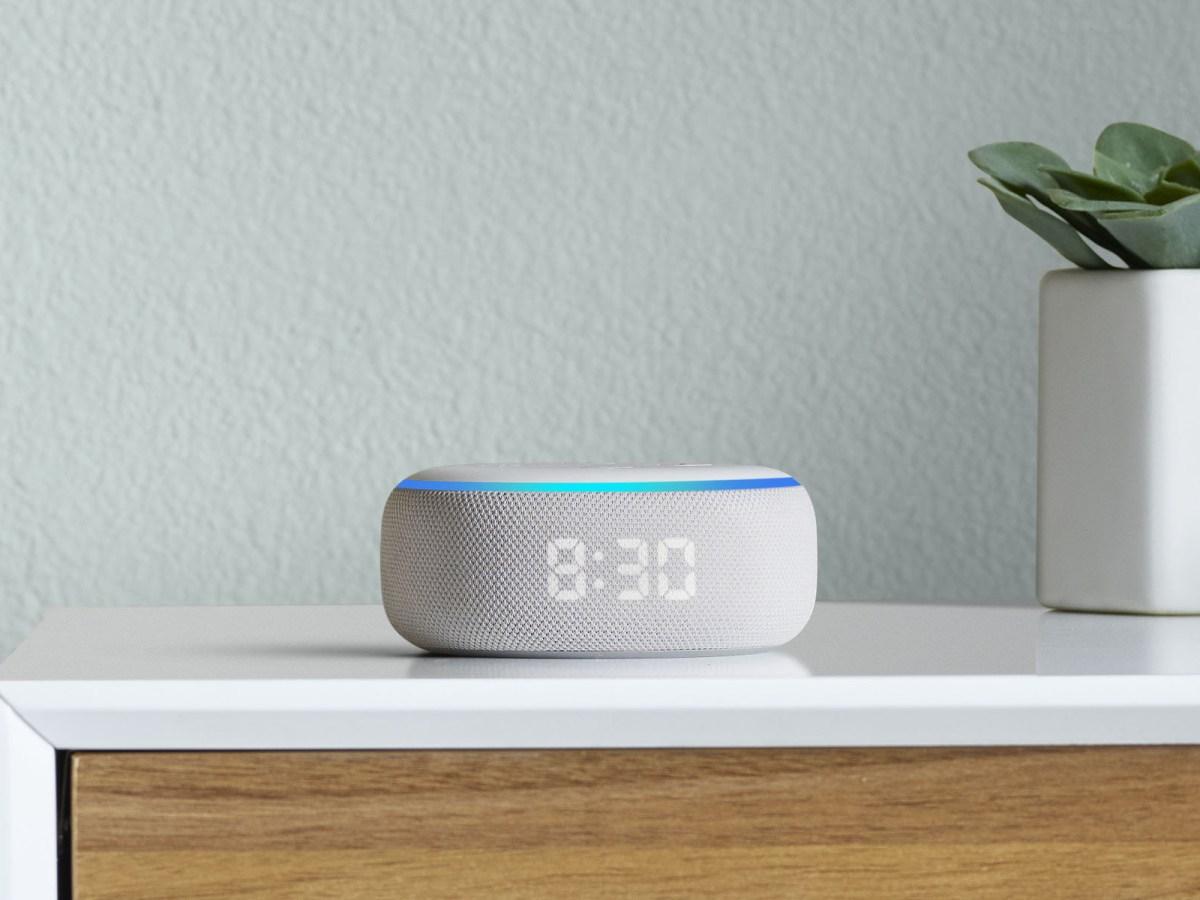 Amazon Echo Dot alexa