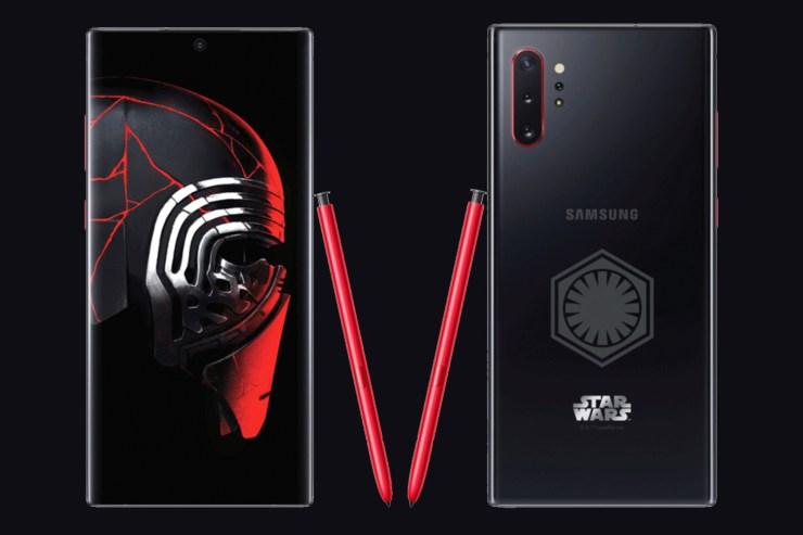 Samsung Galaxy Note 10+ edición especial Star Wars-1