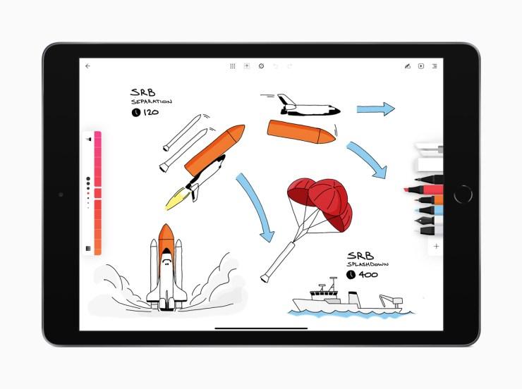 Flow by Moleskine, iPad