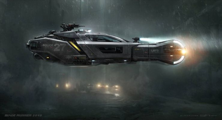 Blade Runner Spinner (Syd Mead)