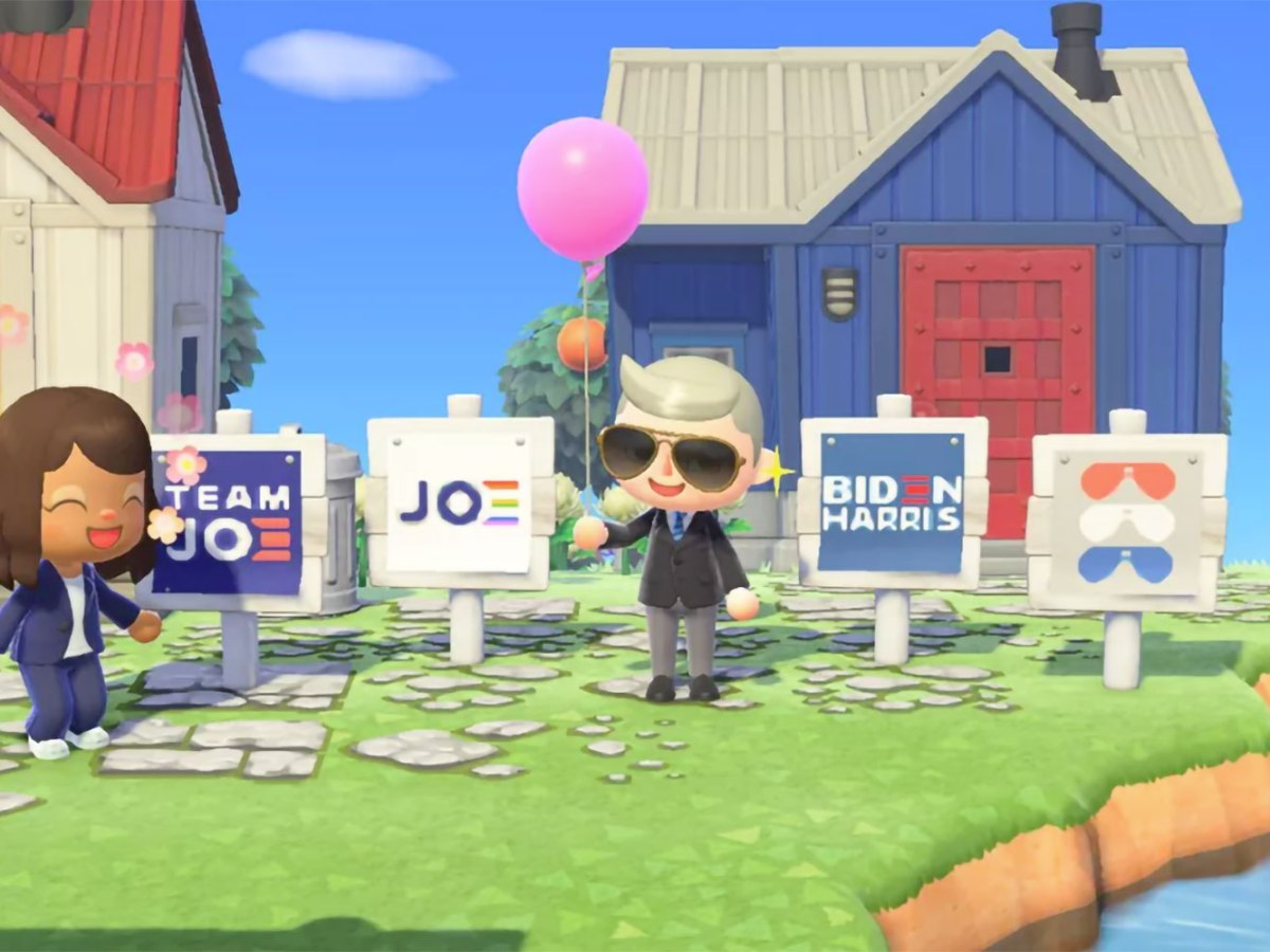 Animal Crossing Joe Biden
