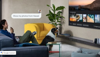 Samsung Smart TV - Asistente Google