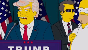 los simpson disney plus presidentes de estados unidos