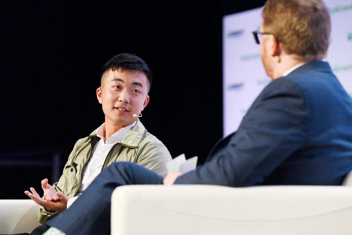 Carl Pei en TechCrunch Disrupt San Francisco 2019