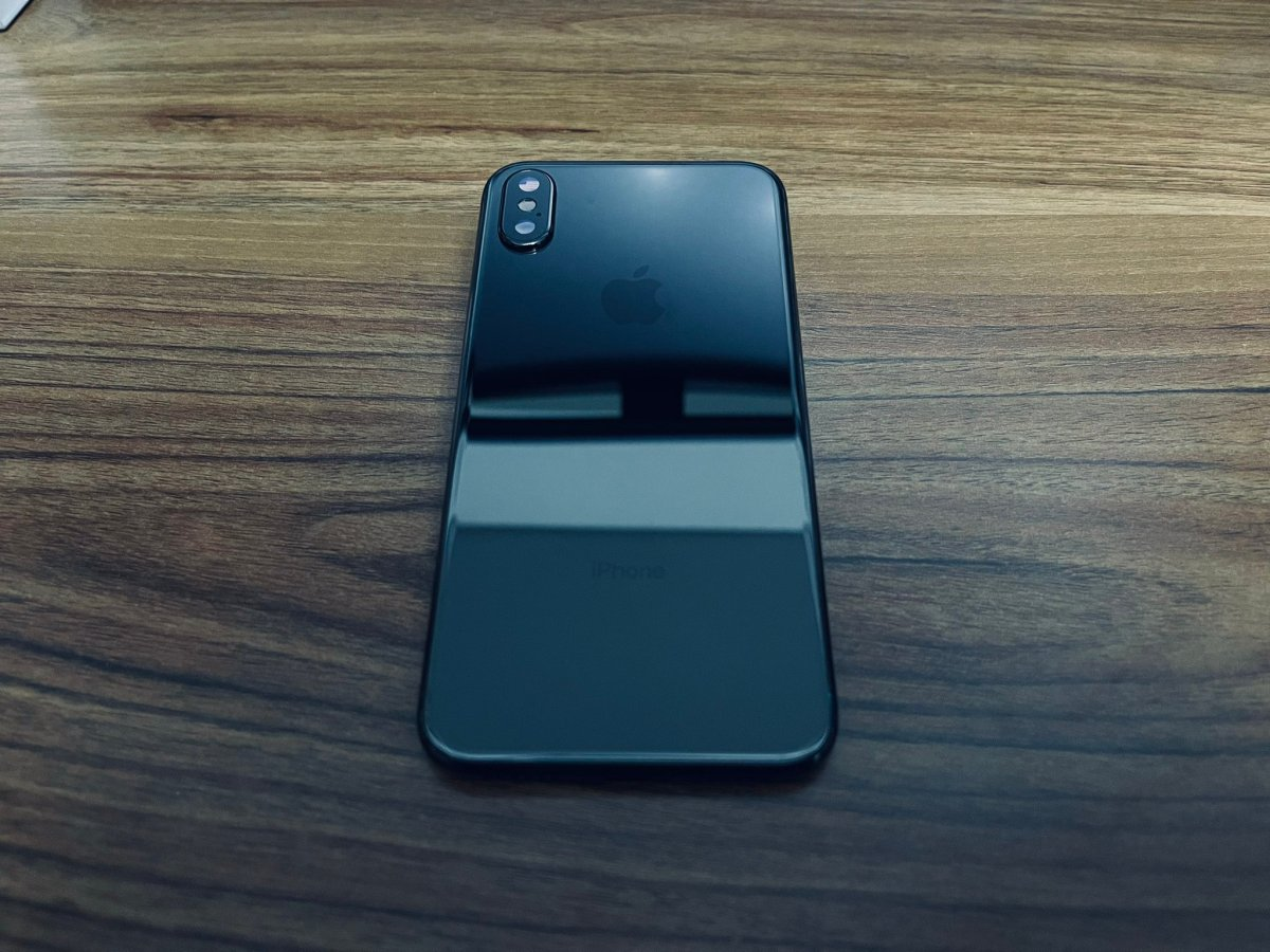 iPhone X Jet Black