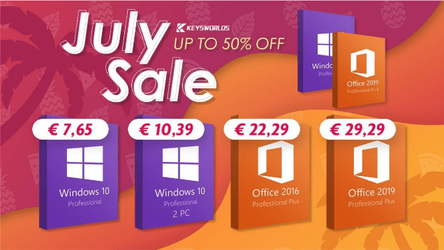 Enjoy the best prices on software for this summer