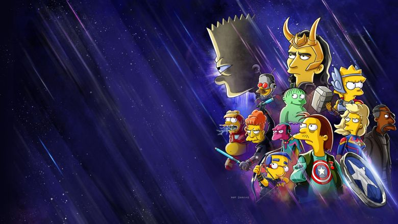 You can now see the special of The Simpsons and Loki on Disney +