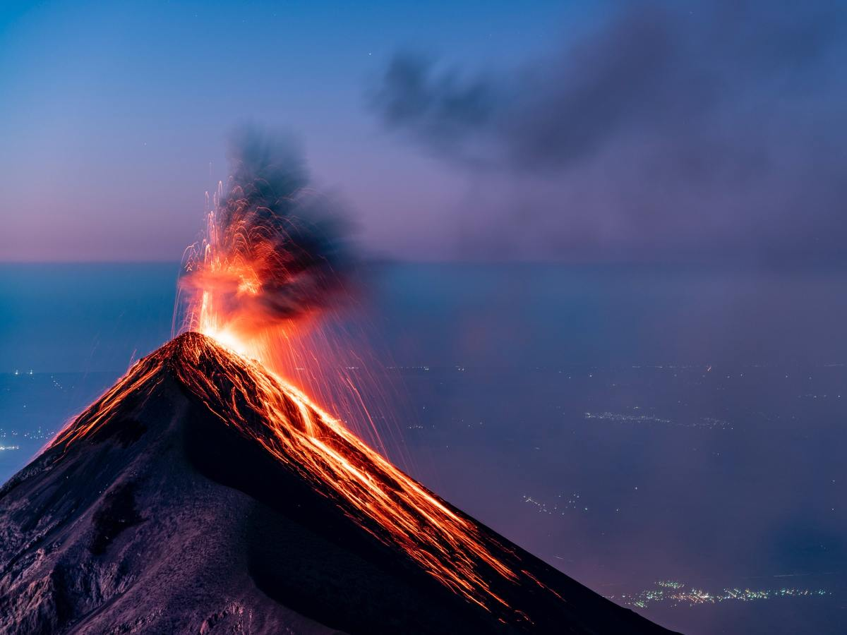 volcán, volcanes