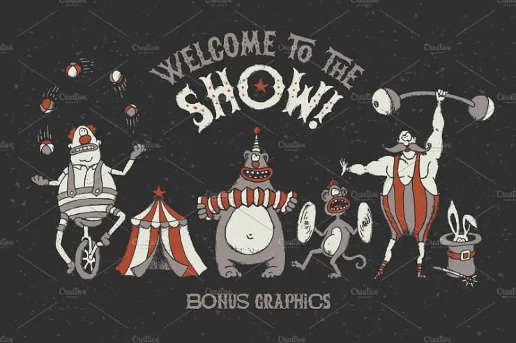 Cool Circus Fonts