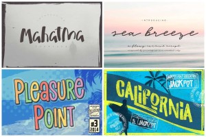 Summer and Beach Fonts