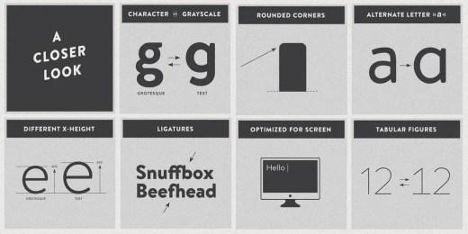 Brandon text typeface