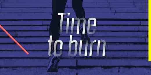 Time to burn calories-min