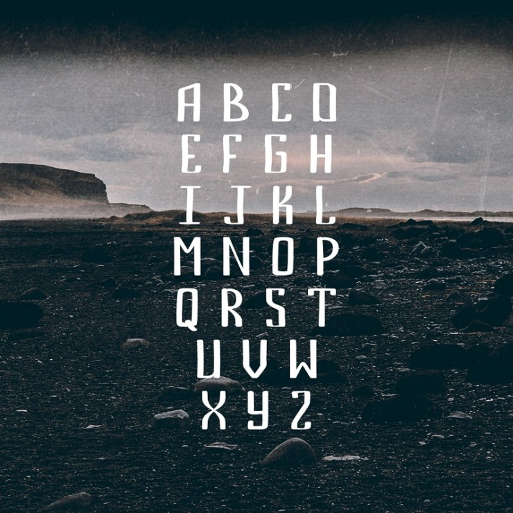 Bemount Free Handwriting Font