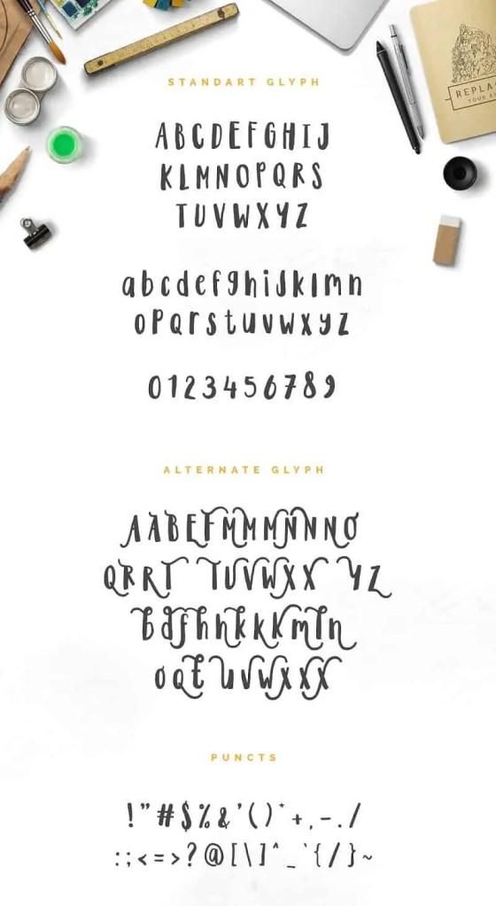 Quickfox Typeface
