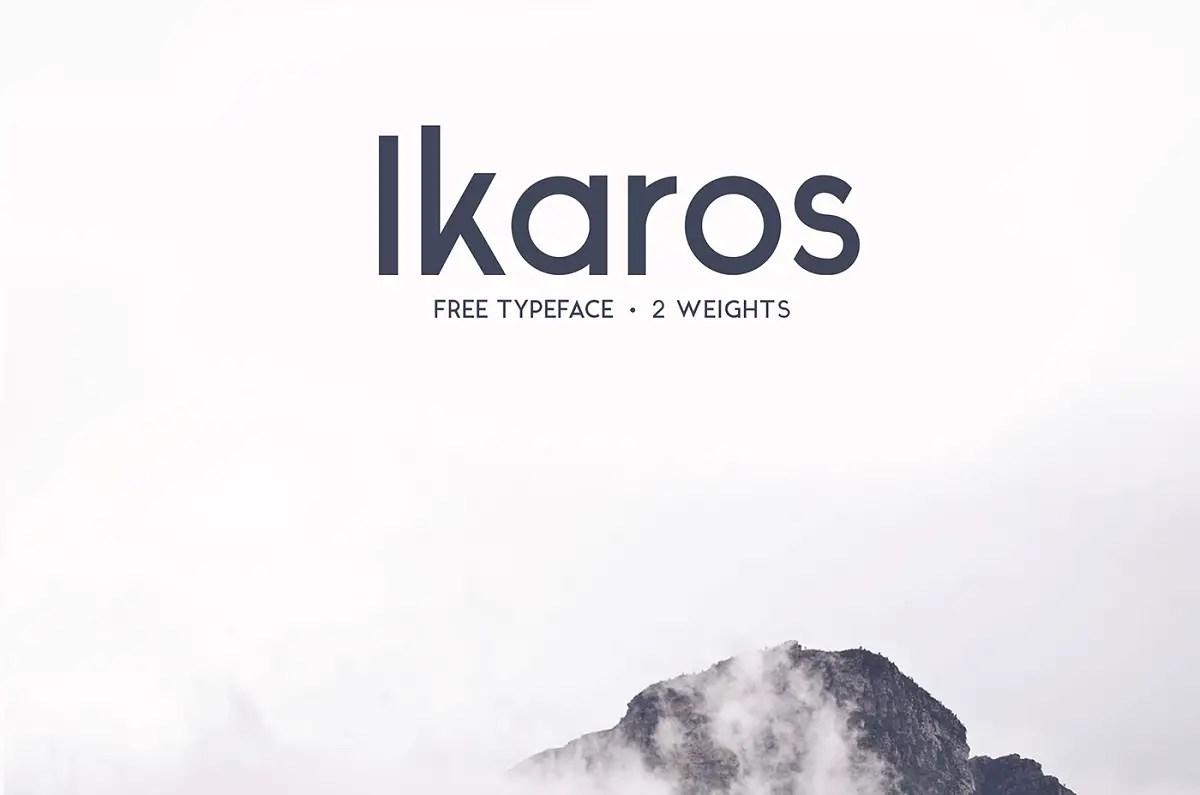 Ikaros Free Font